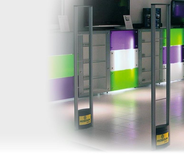 Barreras de seguridad Actishop para negocios y comercios