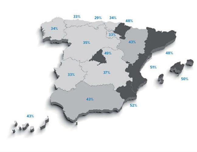 ciudades y provincias más seguras de españa