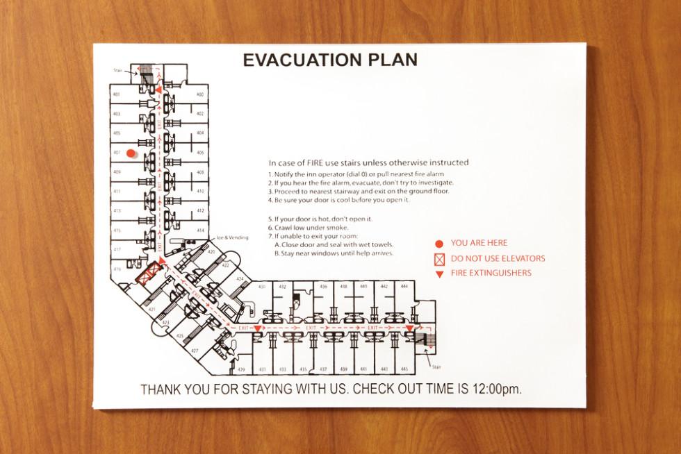 Cómo interpretar los planos de evacuación de los hoteles - Blog de ...