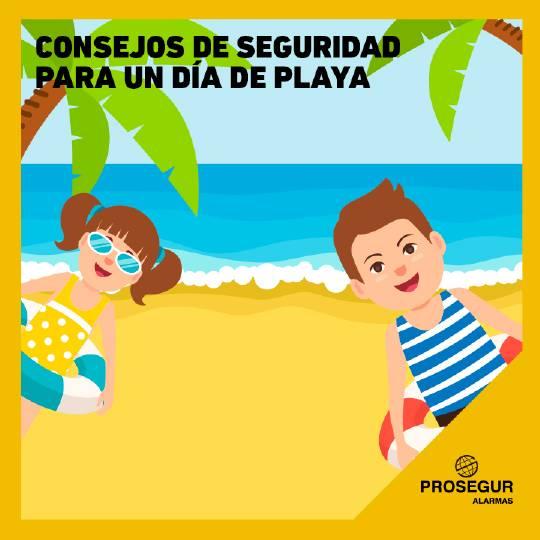 Consejos de seguridad para un día de playa - Blog Prosegur.
