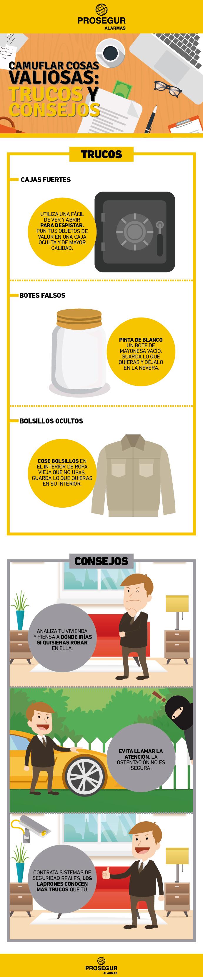 Camuflar cosas valiosas - Trucos y consejos - Blog Prosegur.