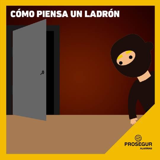 Descubre cómo piensa un ladrón para disuadirlo mejor. Blog Prosegur.
