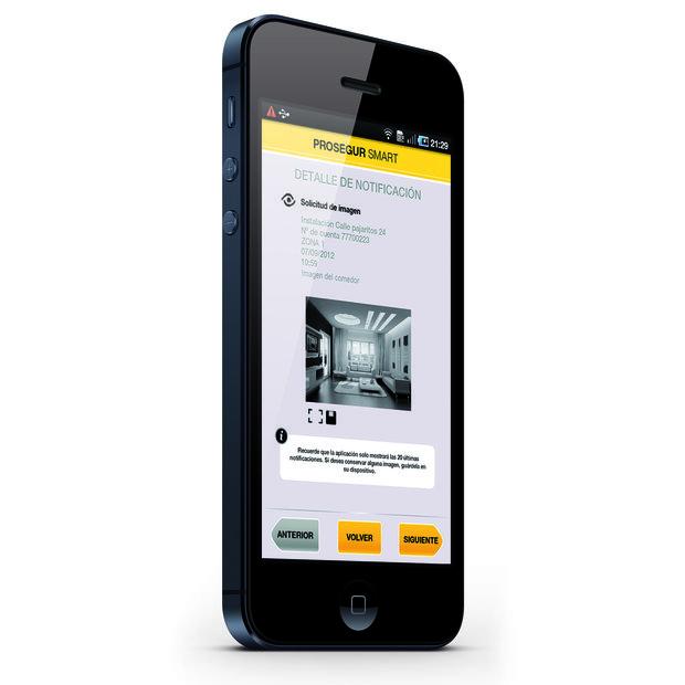 Descargar aplicación de seguridad para el móvil - App Smart Prosegur