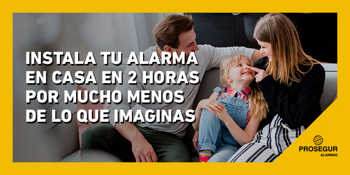 Instalar alarma prosegur en casa