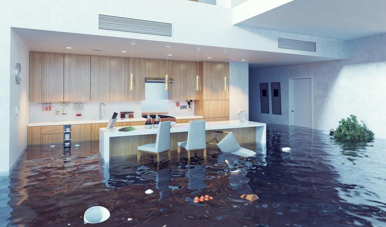 qué hacer casa inundada
