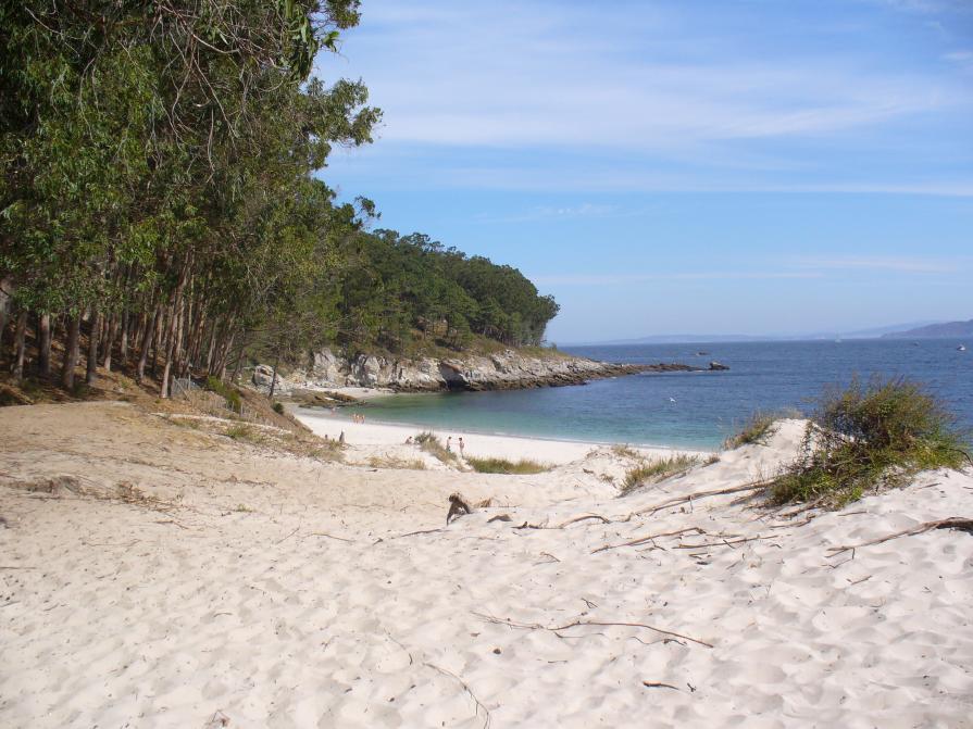 Playas más peligrosas de España: Playa de Fortiñón, Vigo.