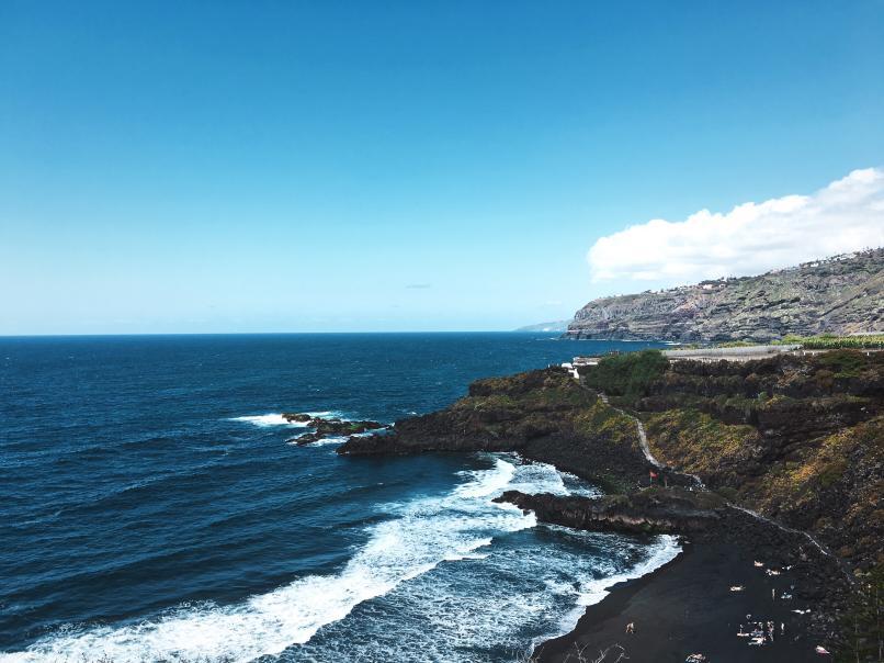 Playas más peligrosas de España: Playa de el Bollullo, Puerto de la Cruz (Tenerife)