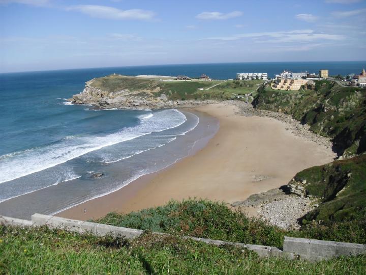 Playas más peligrosas de España, Playa de los Locos, Suances (Cantabria)